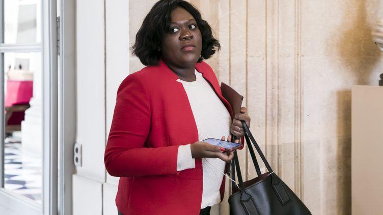 La députée de Paris Laetitia Avia, le 28 janvier 2020 à l'Assemblée nationale. (MAXPPP)