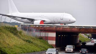 Un Airbus A320 à Blagnac (Haute-Garonne), où se trouve le siège d'Airbus en France, le 29 juin 2020. (REMY GABALDA / AFP)