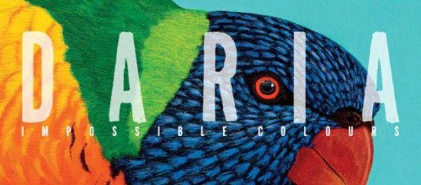 """La pochette du nouvel album du groupe Daria """"Impossible colours"""""""