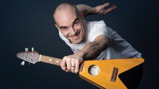 Le chanteur Aldebert. (BERTRAND GUAY / AFP)