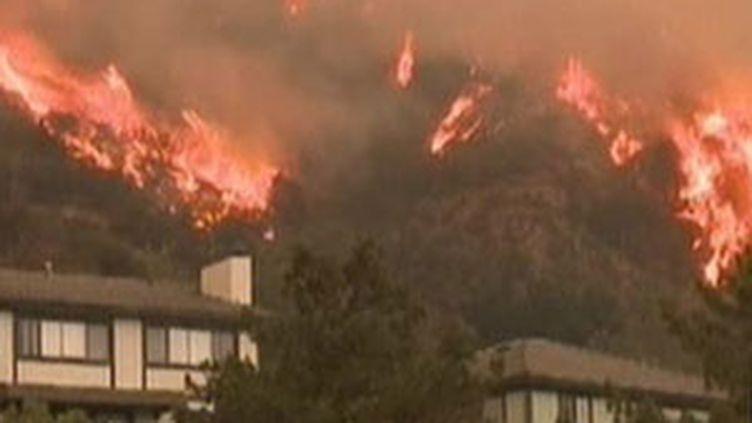 L'incendie a parcouru plus de 51.000 hectares dans les montagnes de San Gabriel et dans la Forêt de Los Angeles (© France)