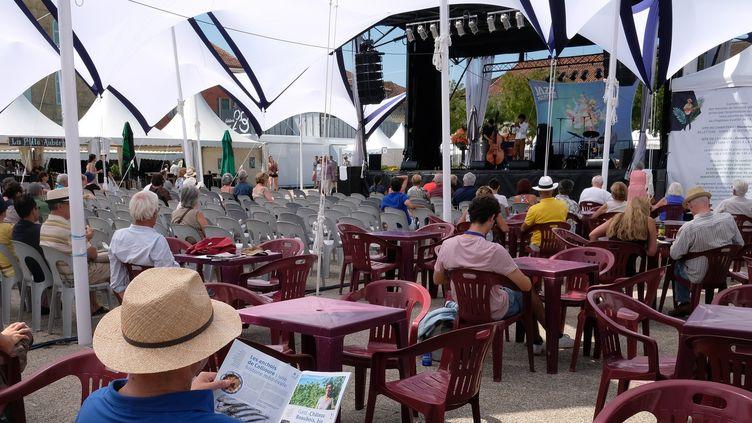 Ouverture du festival Jazz in Marciac, le 29 juillet 2016  (ERIC CABANIS / AFP)
