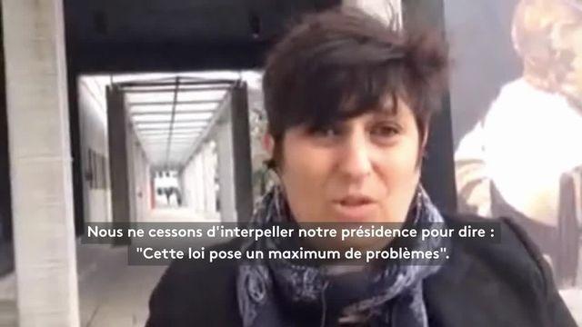L'évacuation des étudiants par les CRS à Nanterre