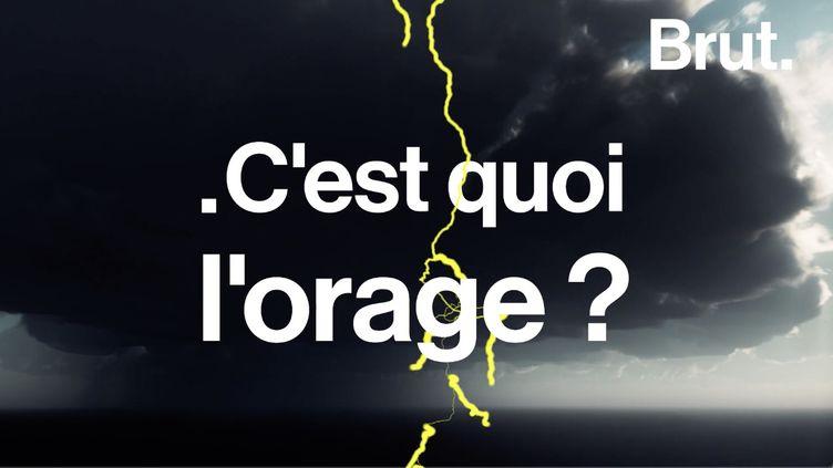 VIDEO. Frottements de particules, éclairs… Mais au fait, c'est quoi l'orage ? (BRUT)