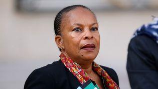 Christiane Taubira, le 7 octobre 2015. (YANN BOHAC / CITIZENSIDE.COM / AFP)