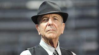 Leonard Cohen sur scène à Nîmes le 20 août 2009  (Yoan Valat / Epa / MaxPPP)