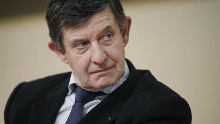 Le futur président de la Banque publique d'investissement (BPI), Jean-Pierre Jouyet, le 18 ocotbre 2012 à Lyon (Rhône). (JEFF PACHOUD / AFP)