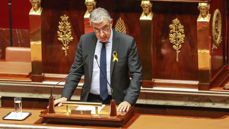 Jean-François Eliaou, député LREM de l'Hérault, à l'Assemblée nationale, le 24 septembre 2019. (JACQUES DEMARTHON / AFP)