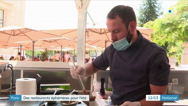 Paris : Des restaurants éphémères ouverts tout l'été