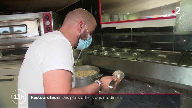 Solidarité : à Nice, des restaurateurs proposent des repas gratuits aux étudiants