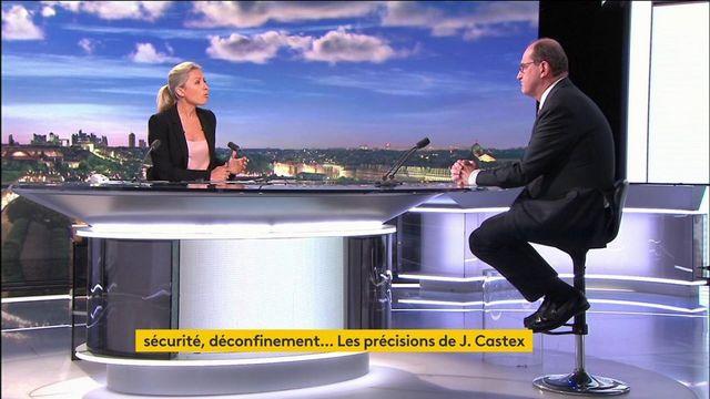 Sécurité, déconfinement : les précisions du Premier ministre Jean Castex