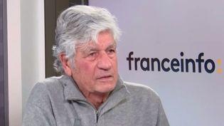 Maurice Lévy, président du conseil de suiveillance de Publicic Groupe (03 décembre 2020). (FRANCE INFO / RADIO FRANCE)