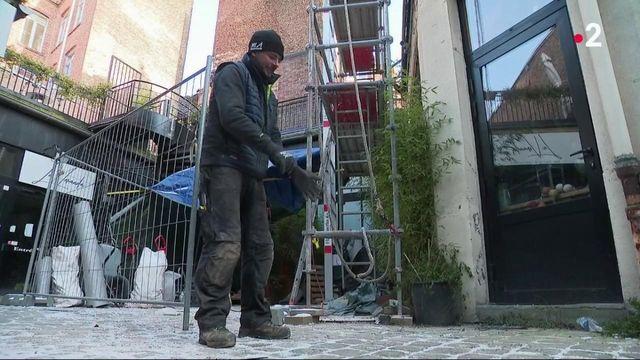 Nord : l'épreuve du froid pour ceux qui travaillent en extérieur