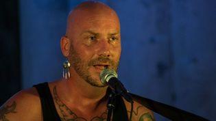 Luc Arbogast sur scène à Souvigny (août 2013)  (Maxime Lenglet)