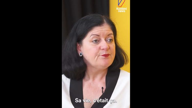 Anne Ratier aexpliqué pourquoi elle a tuéson fils Frédéric, lourdement handicapé, devant la caméra de Konbini. (KONBINI NEWS)