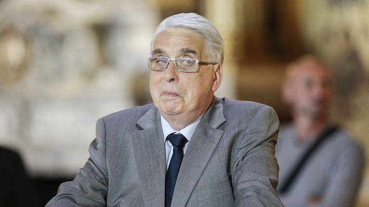 Jean-Pierre Sueur, sénateur socialiste, en scéance lors des questions au gouvernement, le 19 juin 2014. (CHRISTOPHE MORIN / MAXPPP)