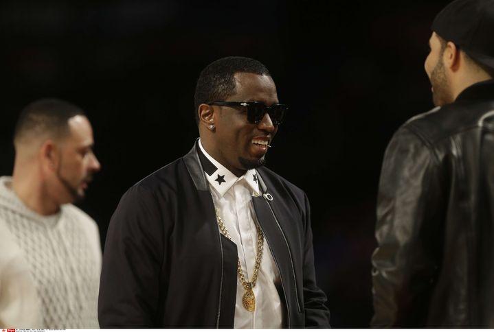 P.Diddy lors du All Star Gamesde NBA qui s'est déroulé en Nouvelle-Orléans (Etats-Unis), le 16 février 2014. (GERALD HERBERT/ AP/ SIPA)