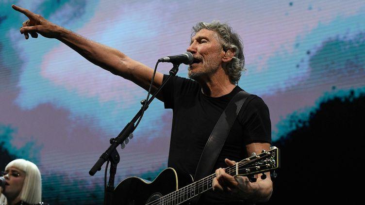 Roger Waters en concert à la halle Tony Garnier à Lyon, le 9 mai 2018