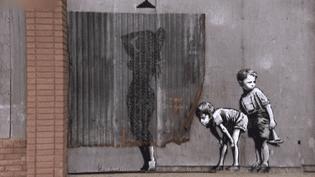 Depuis près de trente ans, Bansky fait parler les murs mais reste muet sur son identité  (France 2 Culturebox)