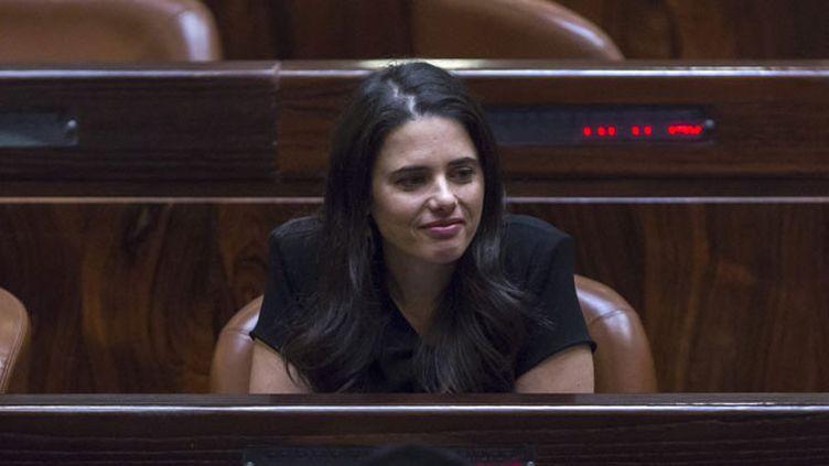 (Ayelet Shaked, nouvelle ministre de la Justice du gouvernement israélien © MaxPPP)