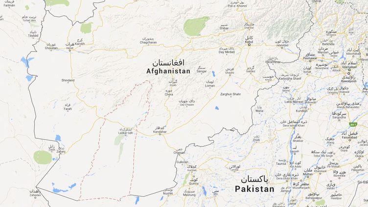 La province d'Helmand, en Afghanistan, où une fillette de 8 ans a été arrêtée le 5 janvier 2014. ( GOOGLE MAPS / FRANCETV INFO )