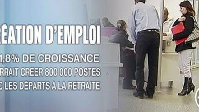 Un rapport propose trois scénarios pour l'emploi en 2015