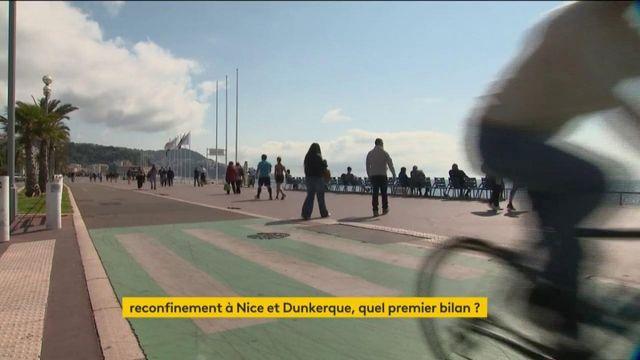 Confinement week-end : l'heure du bilan pour Nice et Dunkerque