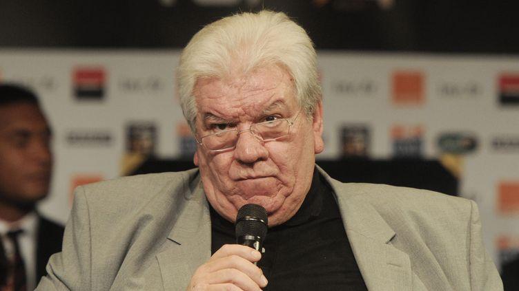 Paul Goze, président de la Ligue nationale de rugby (DOMINIQUE FAGET / AFP)