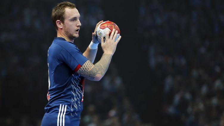 Le joueur de l'équipe de France Valentin Porte (STEPHANE ALLAMAN / STEPHANE ALLAMAN)