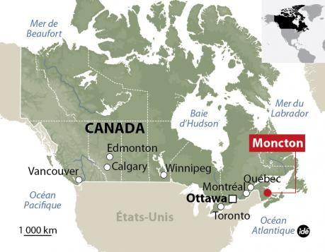 (Chasse à l'homme à Moncton (Canada) © Idé)