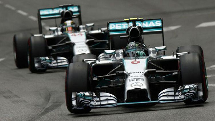 Nico Rosberg Lewis Hamilton, les duettistes de Mercedes (HOCH ZWEI / HOCH ZWEI)