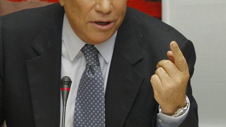 Bernard Tapie, le 10 septembre 2008 à Paris. (BENOIT TESSIER / AFP)