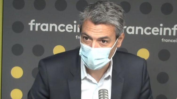 Jean-Marc Juramie,directeur général adjoint des programmes et des antennes payantes de Canal+, à franceinfo le 14 avril 2021 (FRANCEINFO / RADIO FRANCE)