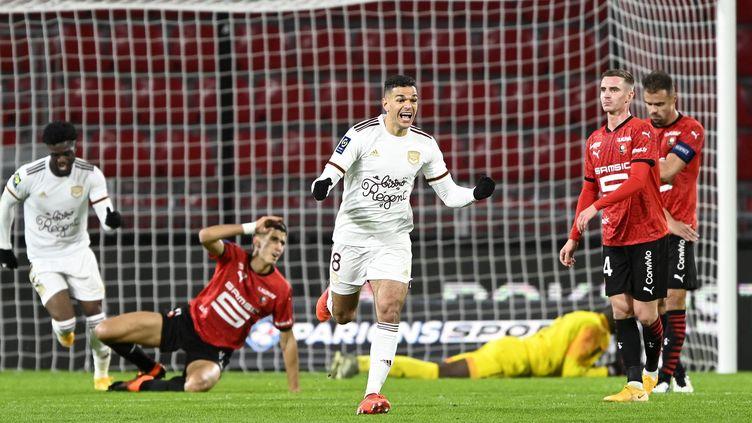 Ben Arfa a marqué son premier but avec Bordeaux face à son ancien club (PHILIPPE RENAULT / MAXPPP)