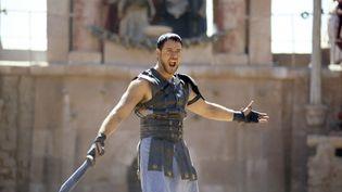 """Dans """"Gladiator"""", sorti en 2000, Russell Crowe incarne Maximus, un général romain forcé de descendre dans l'arène pour venger sa femme et son fils. (UNIVERSAL PICTURES)"""