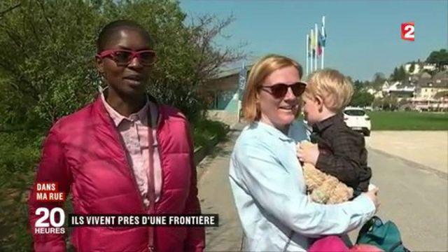 """""""Dans ma rue"""" : près d'une frontière, à Thonon-les-Bains"""