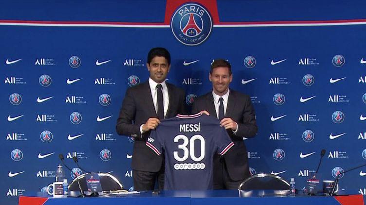 PSG : Lionel Messi, l'espoir de Paris (FRANCE 3)