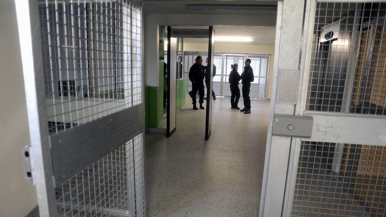 Le taux d'occupation des prisons françaises est resté inchangé, à 118,5%. (PASCAL PAVANI / AFP)