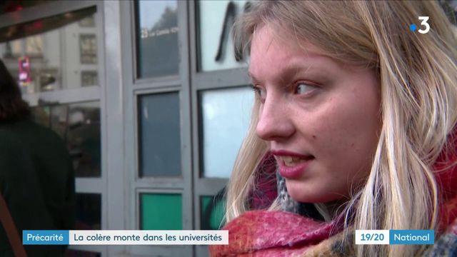 Précarité : la colère monte dans les universités après l'immolation d'un étudiant