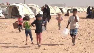Le camp de réfugiés d'Aïn Issa (Syrie), en octobre 2017. (GILLES GALLINARO / RADIO FRANCE)