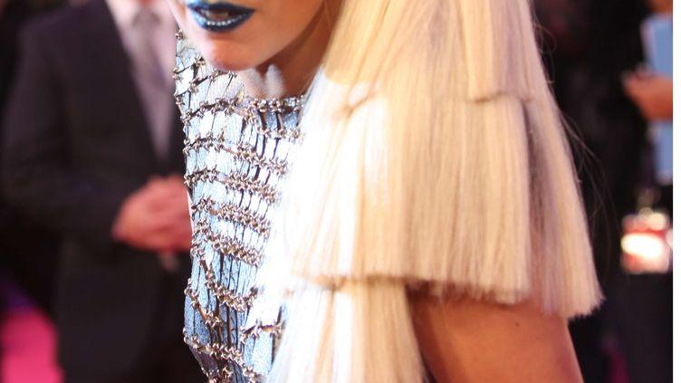 Lady Gaga à la cérémonie des MTV European Music Awards 2011 à Belfast le 6 novembre 2011. (JOEAL RYAN / SIPA)