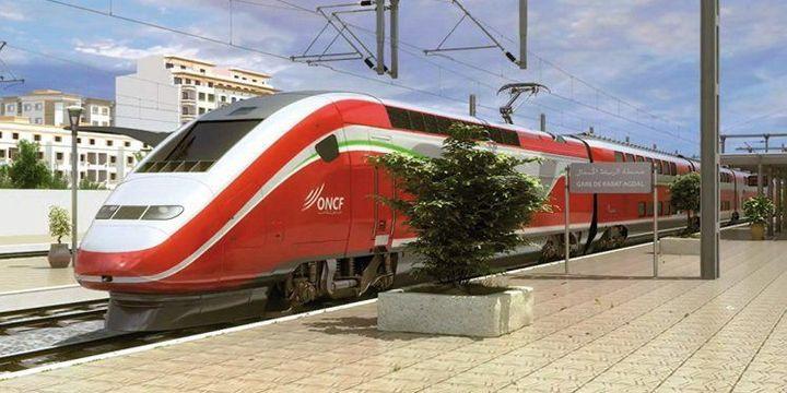 Copie d'écran du site Aujourd'hui le Maroc:TGV marocain. (Copie d'écran du site Aujourd'hui le Maroc)