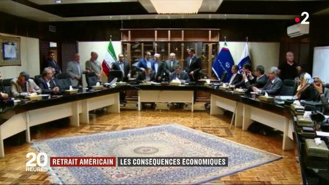 Nucléaire iranien : les conséquences économiques du retrait américain