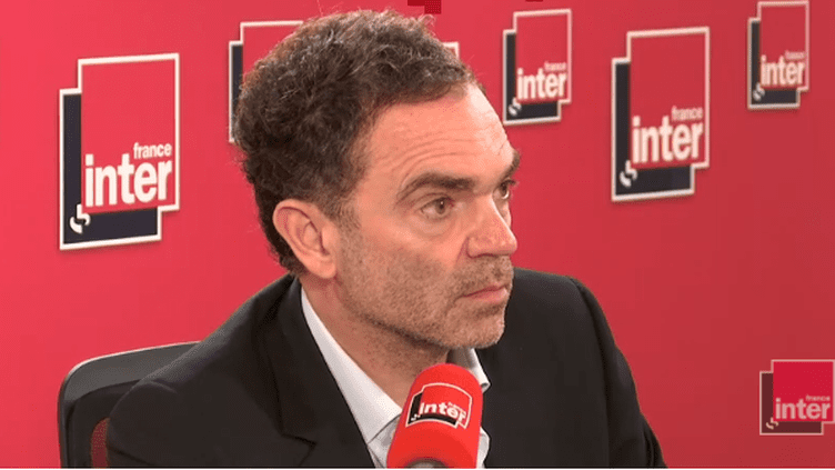 Yann Moix, le 21 septembre 2018. (RADIO FRANCE / FRANCEINFO)