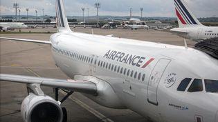Un avion Air France à Orly, le 11 juin 2016. (IRINA KALASHNIKOVA / SPUTNIK / AFP)