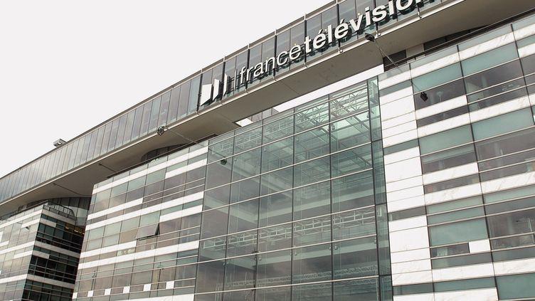 Siège FRANCE TELEVISIONS à Paris. (JEAN AYISSI / AFP)