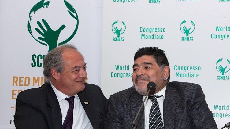 L'Argentin Diego Maradona  (ESPECIAL / NOTIMEX )