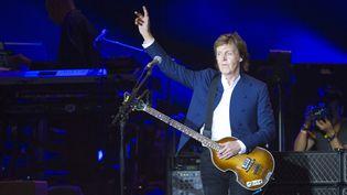 Paul McCartney au Festival Roskilde en juillet 2015  (JENS NOERGAARD LARSEN / SCANPIX / AFP)