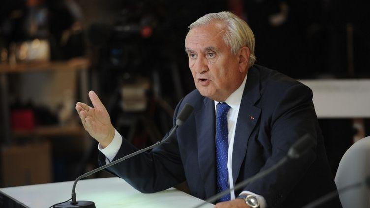 Jean-Pierre Raffarin, le 28 septembre 2014. (STEPHANE DE SAKUTIN / AFP)