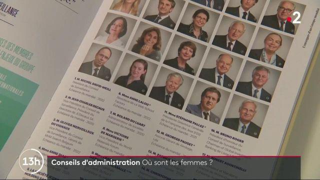 Conseil d'administration : où sont les femmes ?